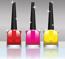 nail polish bottles by valeo5