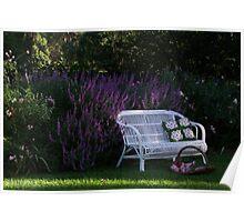 "My Garden ""Rosalee"" Poster"