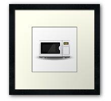 Microwave Framed Print