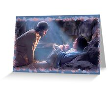 Baby Jesus Greeting Card