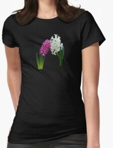 Hyacinths In Love Womens Fitted T-Shirt