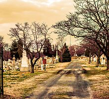 Cemetary in color by Jermaine Parker
