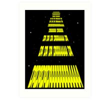 Phonetic Star Wars Art Print