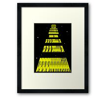 Phonetic Star Wars Framed Print