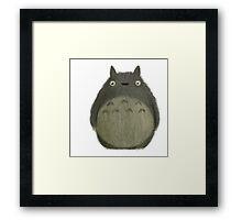 Totoro Framed Print