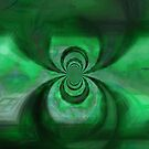 Green Copper Vortex by jojobob