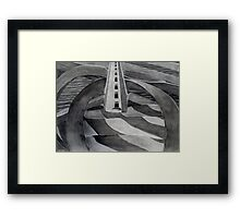 Runway for the Fly Framed Print