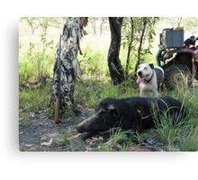 Hunting Canvas Print