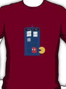 Dr. Who Tardis Pacman T Shirt T-Shirt