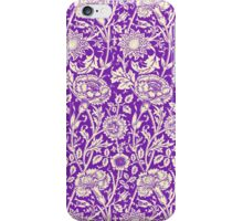 Purple Vintage Floral Wallpaper iPhone iPod Case iPhone Case/Skin