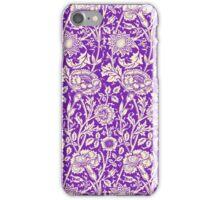Purple Vintage Floral Wallpaper iPhone iPod Case iPhone Case/Skin