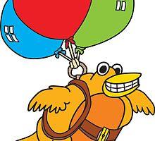 Balloon Bird by johnneyer