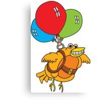 Balloon Bird Canvas Print