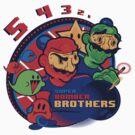 super bomber bros. - mario bomberman mashup by Aybanyoori