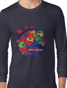 super bomber bros. - mario bomberman mashup Long Sleeve T-Shirt
