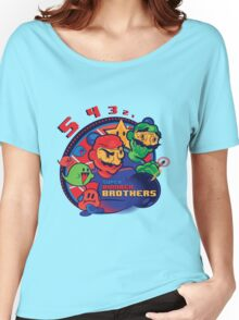 super bomber bros. - mario bomberman mashup Women's Relaxed Fit T-Shirt
