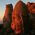 Mount Nemrut by Jens Helmstedt