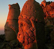 Mount Nemrut by Jens Helmstedt