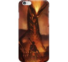 OoT: Volvagia vs Link iPhone Case/Skin