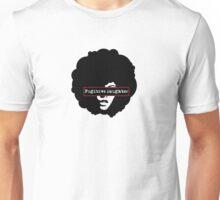 Fugitive Daughter Band - Afro Logo Red Frame Unisex T-Shirt