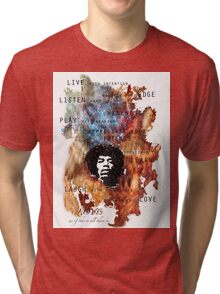 All just a blur Tri-blend T-Shirt