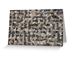 Rubber Crystals 150 Greeting Card