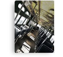 Hardmix Trolley Canvas Print