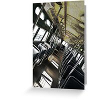 Hardmix Trolley Greeting Card