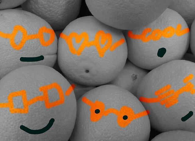 Shades of Orange by rustycarno