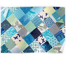 Collagecard: Bleu Poster