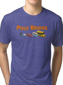Poly Bridge T-Shirt  Tri-blend T-Shirt