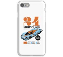 Le Mans Porsche 917 (white) iPhone Case/Skin