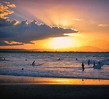 Byron Bay Sunset by AJC Photography