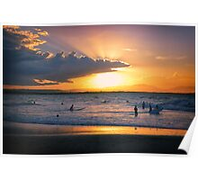 Byron Bay Sunset Poster