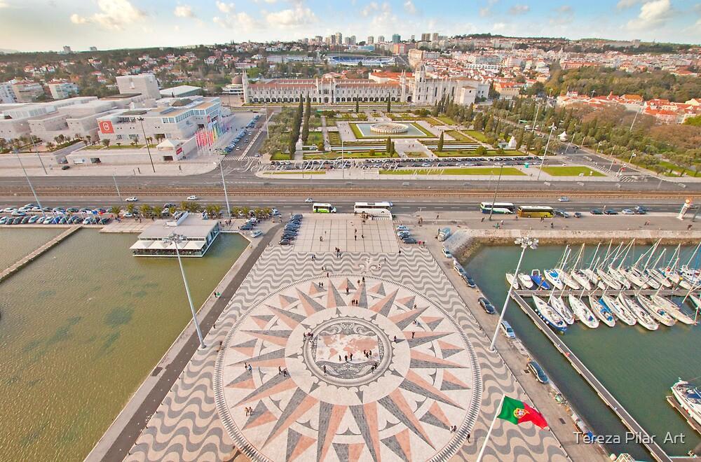 Praça do Império. Padrão dos Descobrimentos. by terezadelpilar ~ art & architecture