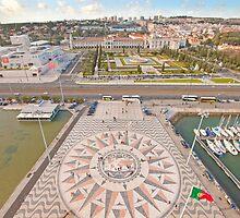 Praça do Império. Padrão dos Descobrimentos. by terezadelpilar~ art & architecture