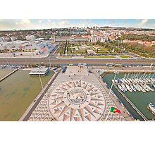 Praça do Império. Padrão dos Descobrimentos. Photographic Print