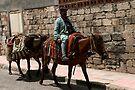 Streets of Mardin by Jens Helmstedt
