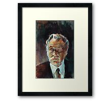 Vincent Price : Tales From The Darkness #2 cover painting Framed Print