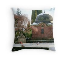 The Mausoleum Throw Pillow