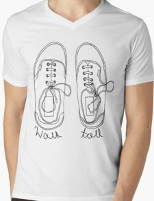 Walk Tall! Mens V-Neck T-Shirt