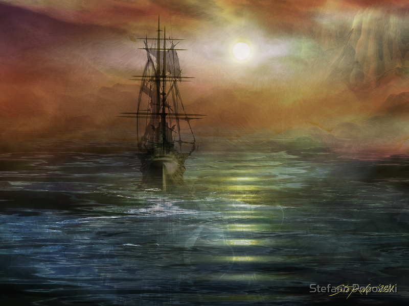Approaching the New World by Stefano Popovski