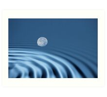 Moon Reflections Art Print