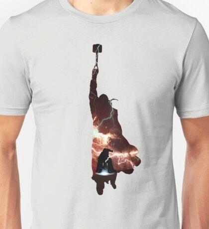 Hammer of Thunder and Lightning Unisex T-Shirt