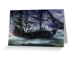 Black Pearl  - Troubles Again Greeting Card