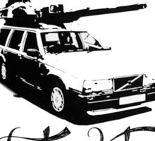 The Volvo 240 Tank Sticker