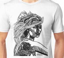 B&W Fashion Illustration - Wilko Johnson Unisex T-Shirt