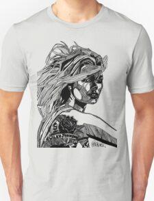 B&W Fashion Illustration - Wilko Johnson T-Shirt