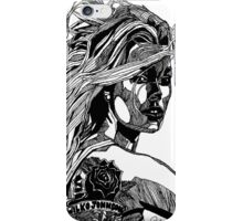 B&W Fashion Illustration - Wilko Johnson iPhone Case/Skin