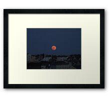 Super Moon, Isle of Man Framed Print